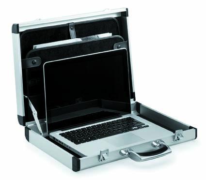 Алюминиевый кейс для ноутбука